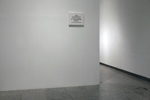 Obra de Joan Fontcuberta a l'exposició No tocar, por favor