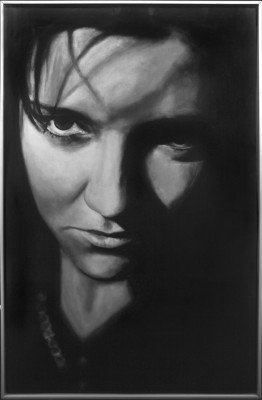 Cori Mercadé. Les vuit diferències o els vuits errors (1995). Fotografia i pintura (1/2 unitats) 84 x 54 cm. Obra de La Col·leció La Relació, DUODA
