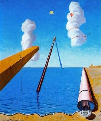 Pintura surrealista (1955). Àngel Planells, DACS/VEGAP, 2013.
