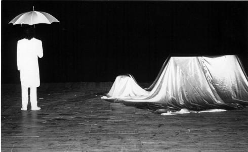 Poema blanc per a piano. Opus 86 (Mataró, 18 de maig de 1986). Fotografia de Joan Ballbè.