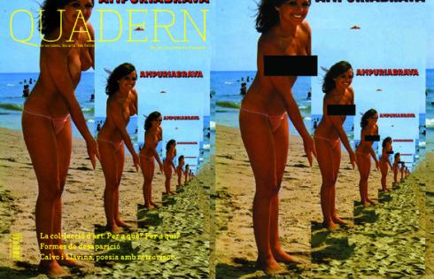 La portada original del número 195 i la reinterpretació de Guillem Celada el 2015